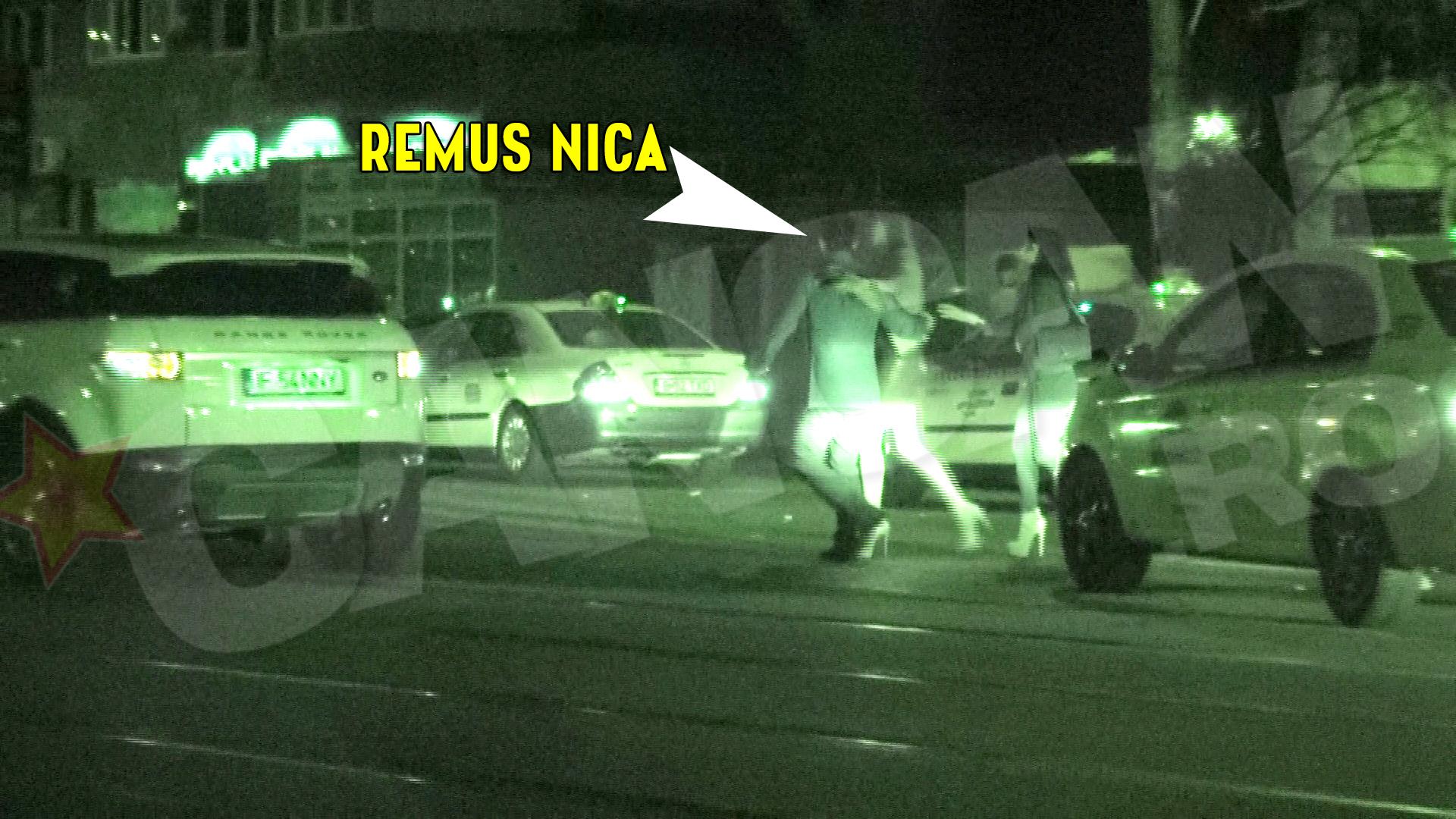 Remus Nica a iesit din club in compania a doua domnisoare