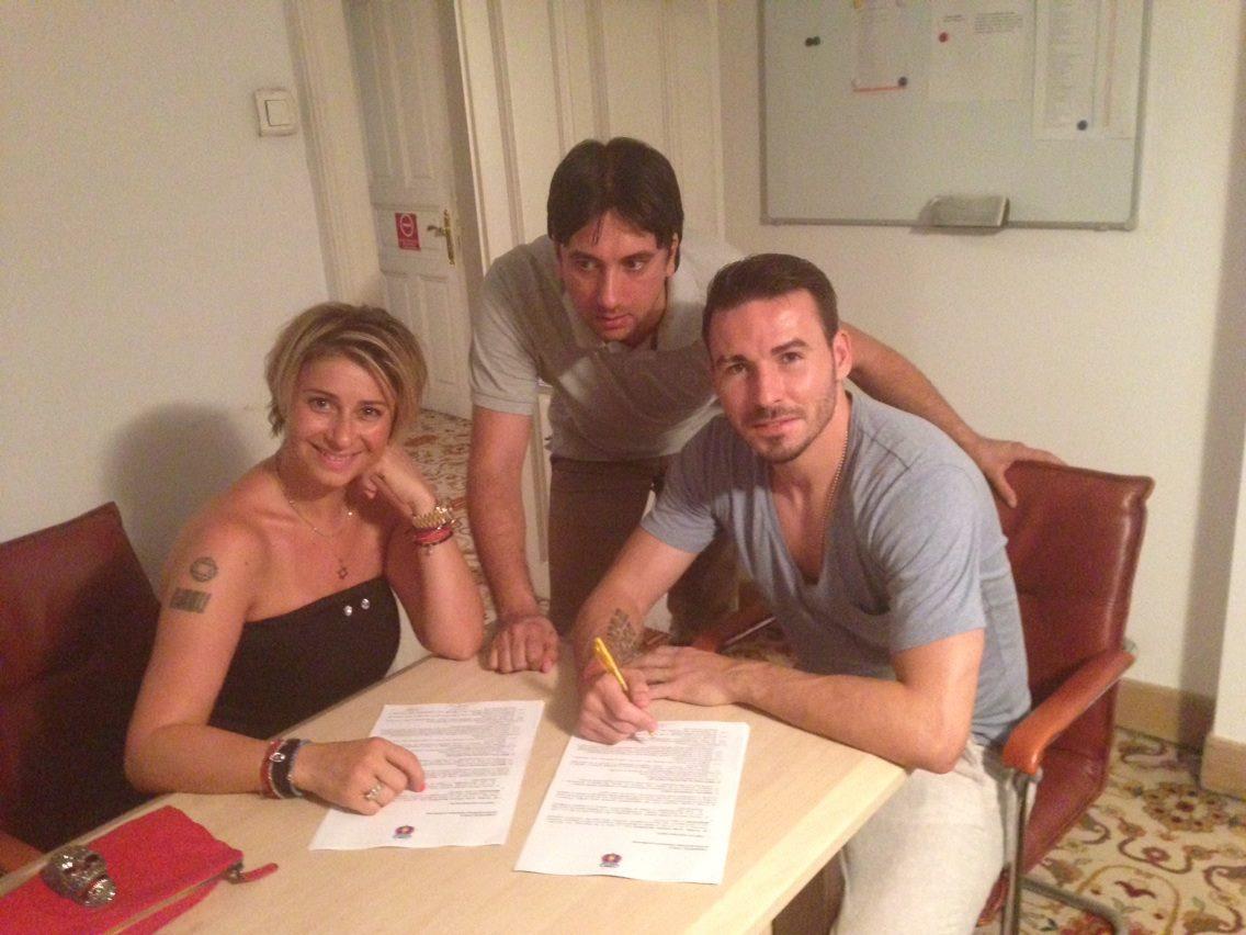 Anamaria l-a adus pe Adrian Cristea la Steaua