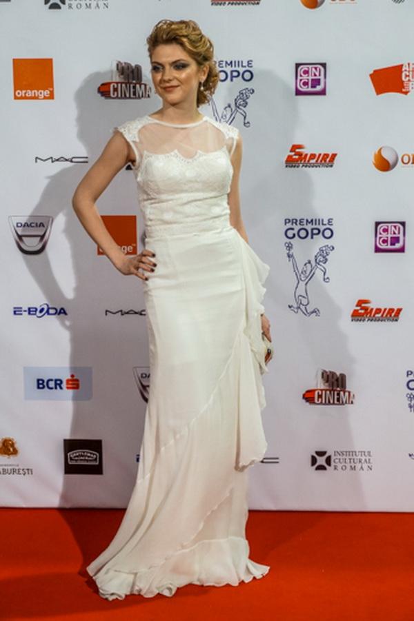 Olivia Nita la Premiile Gopo 2014 foto: andreeapatrascu.ro