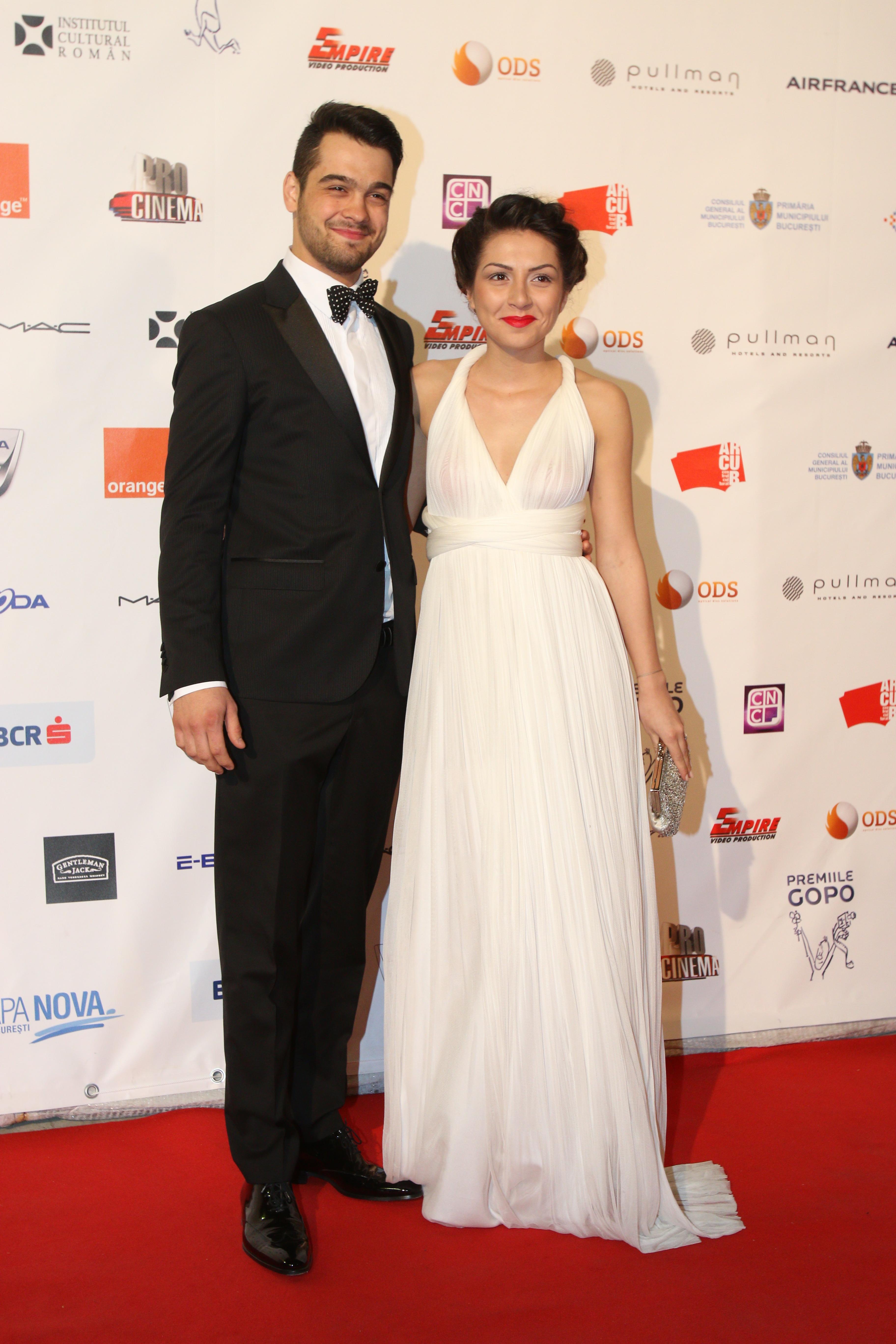 George Pistereanu si partenera sa la Premiile Gopo 2014