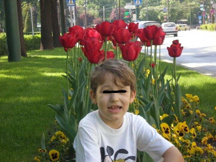 Pablo este baiatul de 11 ani al lui Pacha Man foto: Facebook