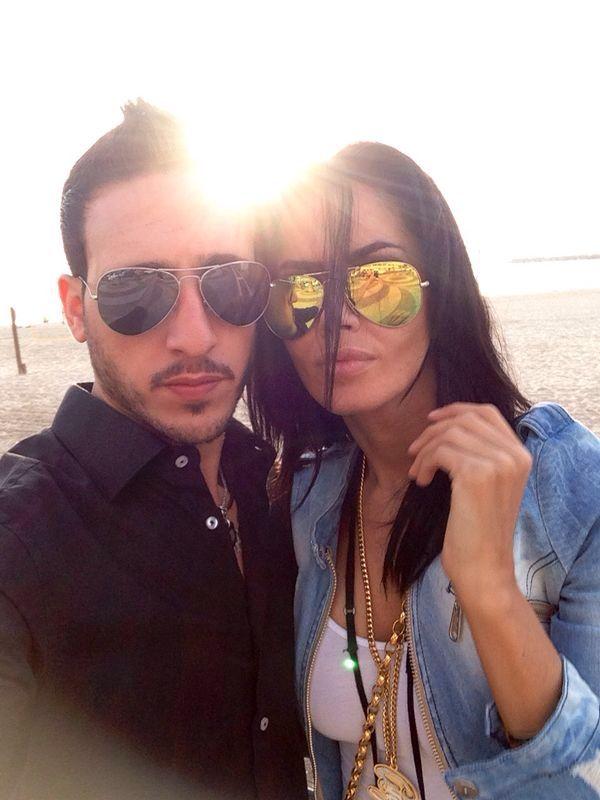 Oana Zavoranu si iubitul ei Tomer