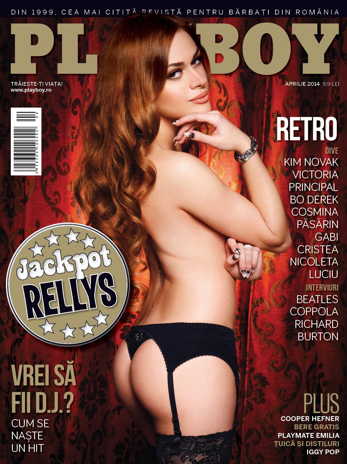 Rellys Tonu apare pe cea mai recenta coperta a revistei Playboy