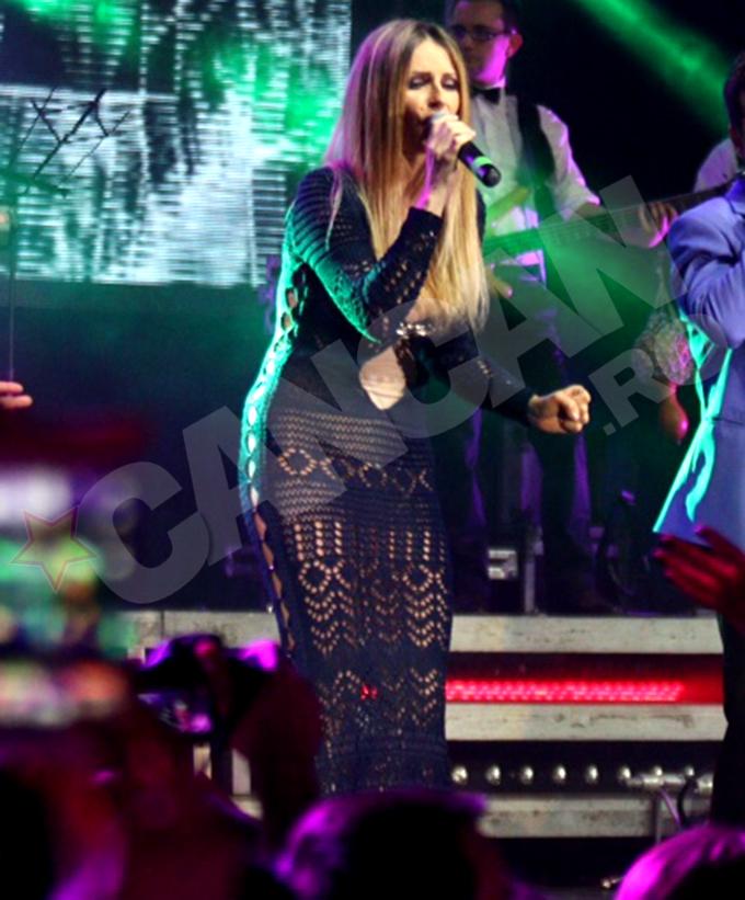 Andreea Banica a facut furori la concertul 3rei Sud Est