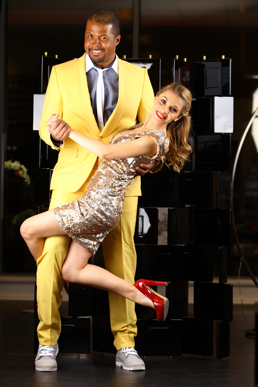 Andreea si sotul ei formeaza unul dintre cele mai haioase cupluri din showbizul romanesc foto: PRO TV