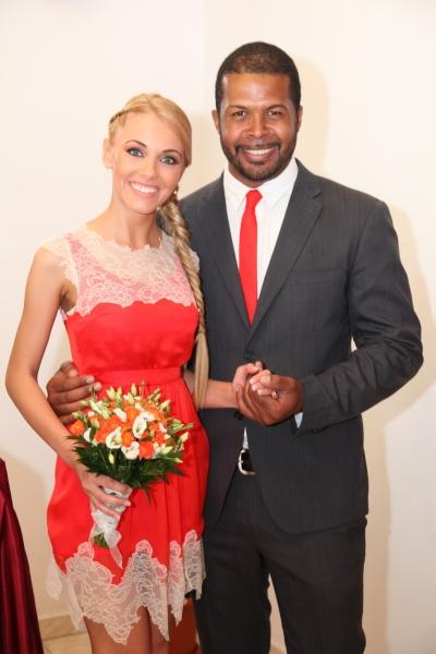 De cand s-au casatorit, Andreea si Cabral sunt de nedespartit