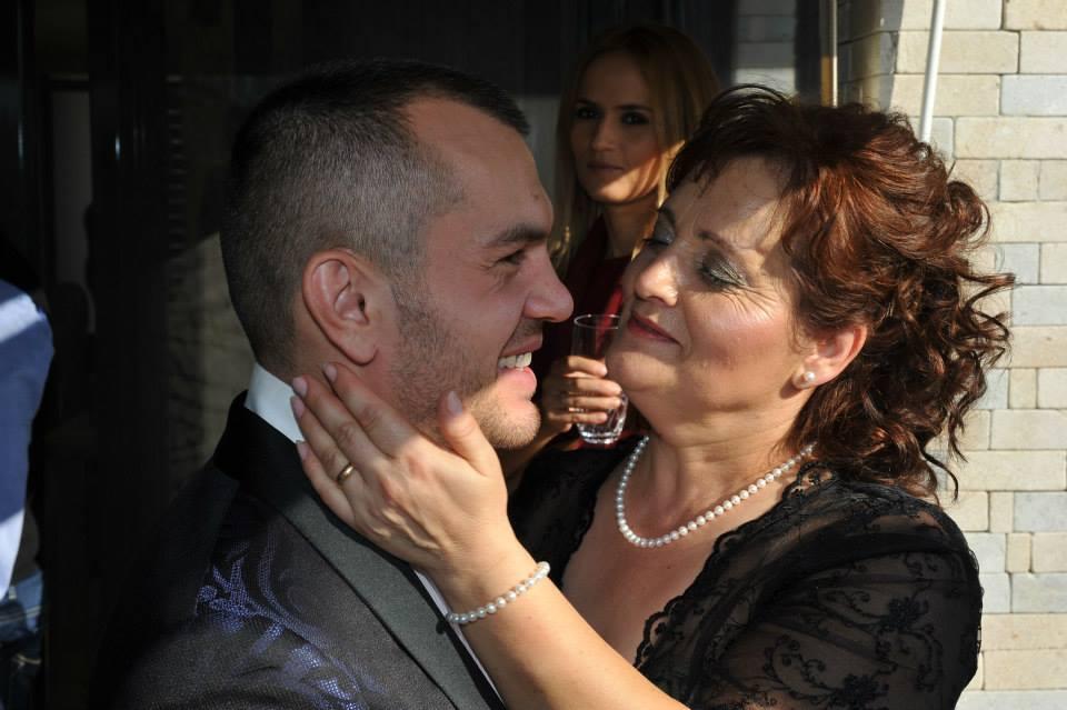 Ionut Atodiresei are o relatie foarte buna cu mama sa