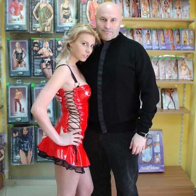 Zoltan impreuna cu Alina Plugaru