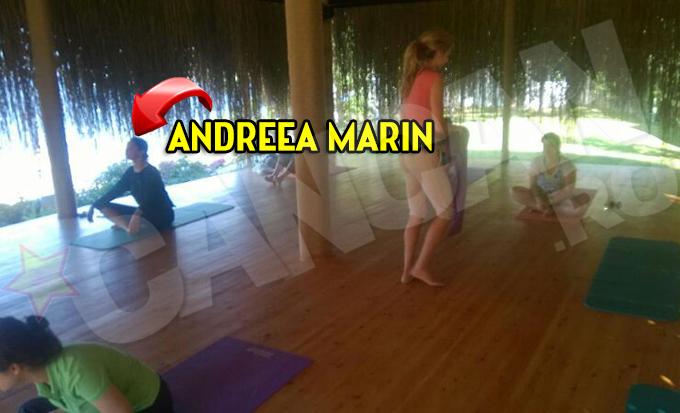 Andreea face yoga de doua ori pe zi
