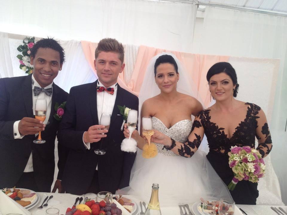 Costin Gheorghe s-a casatorit ieri