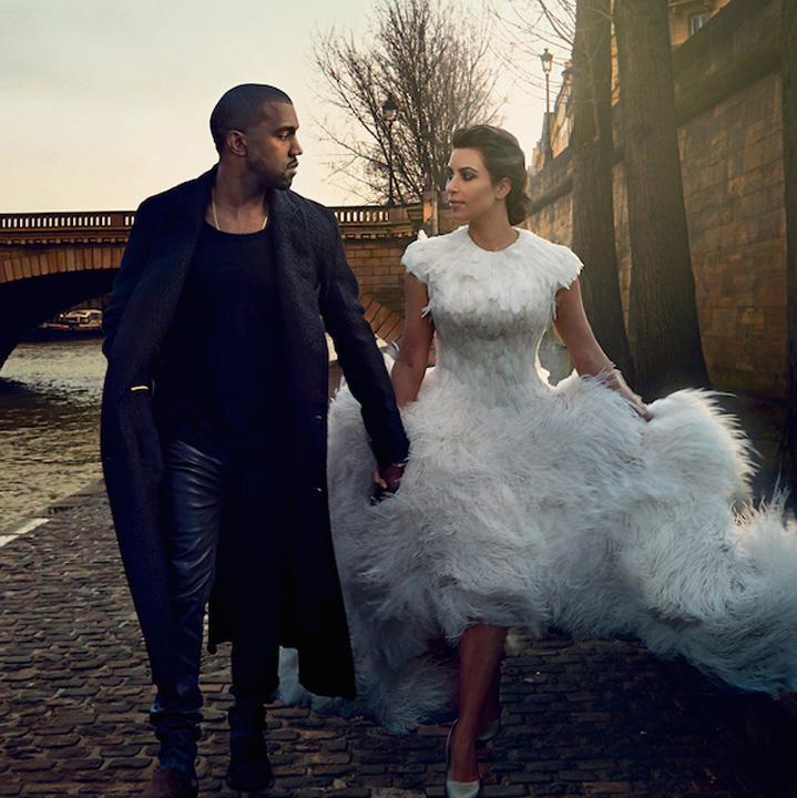 Kim Kardashian si Kanye West s-au casatorit weekendul acesta