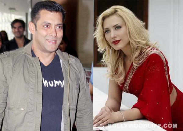 Iulia Vantur si Salman Khan