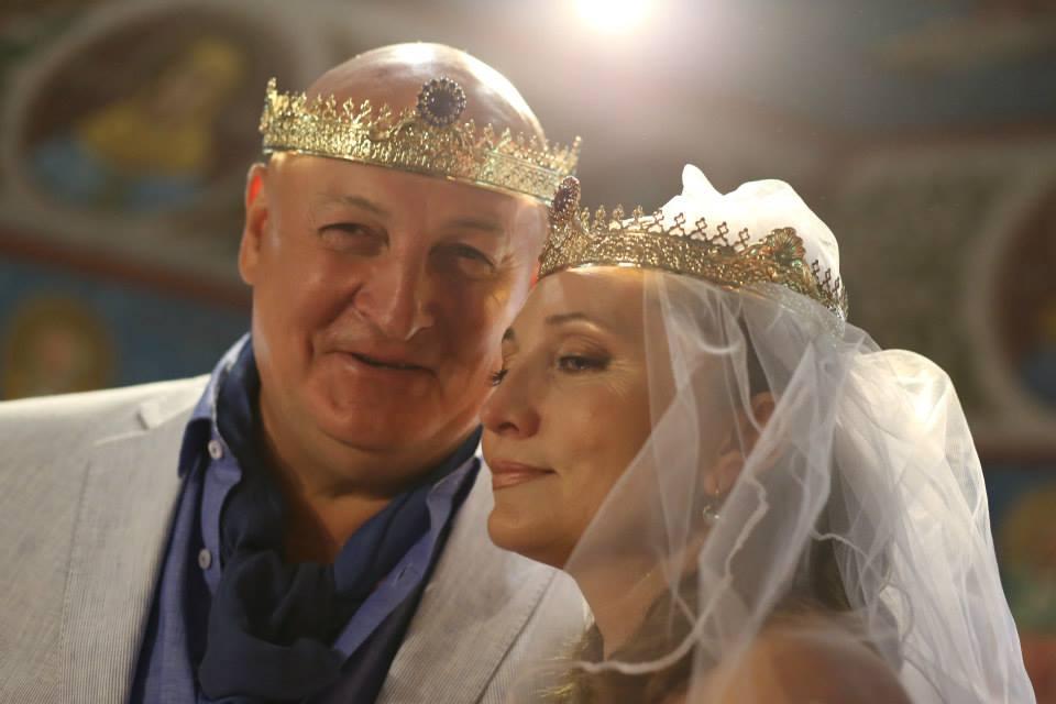 Actorul si sotia sa si-au jurat iubire eterna