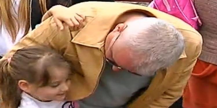 Irinel Columbeanu sustine ca are o relatie speciala cu fiica sa