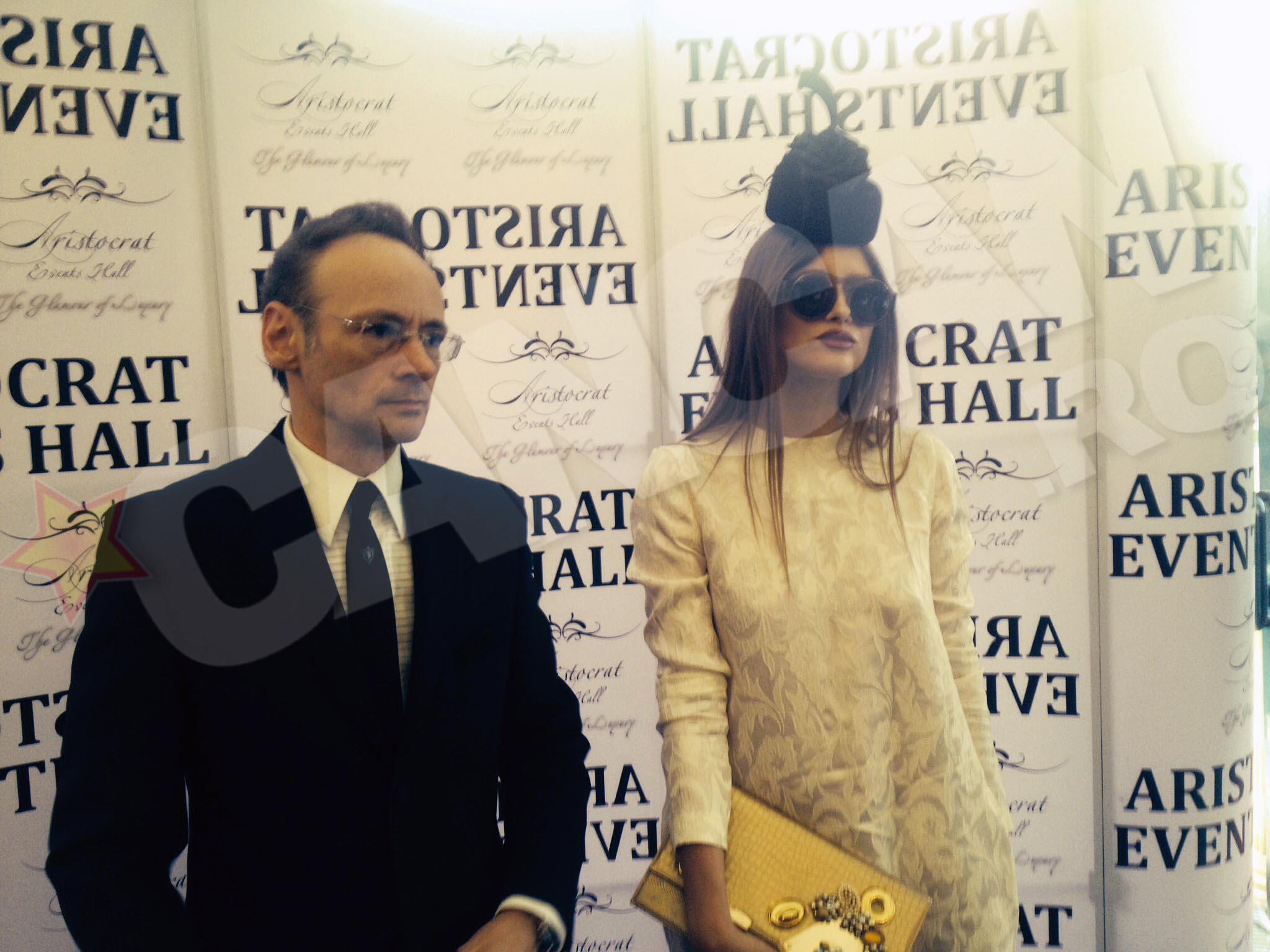 Mihai Albu si fosta sotie au venit impreuna la un eveniment monden