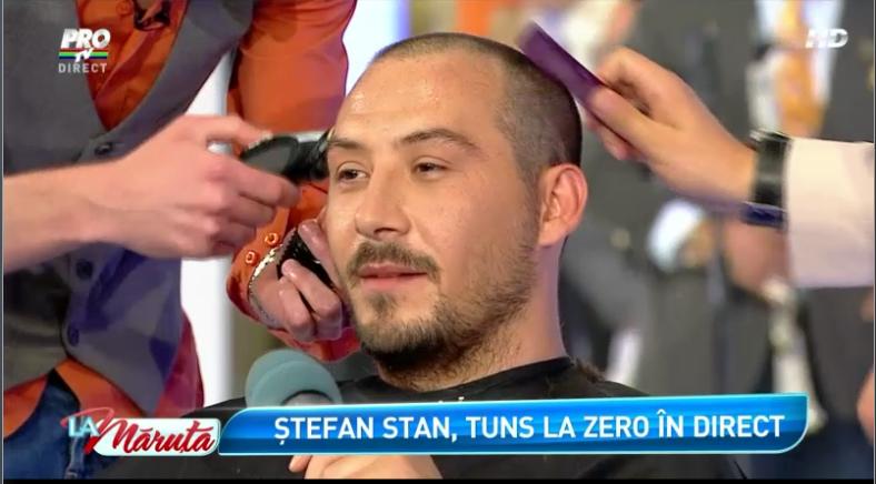 Stefan Stan a anuntat ca se va duce sa isi faca implant de par