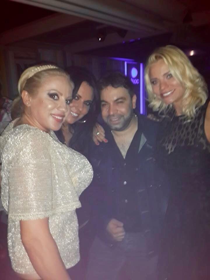 Salam s-a distrat in club alaturi de Raluca Macovei, Rocsana Marcu si Mariana Rosca