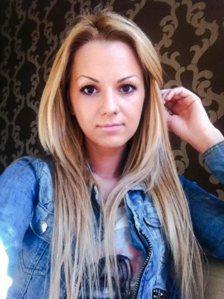 Alexandra Buga i-a furat inima unui fiu de politist