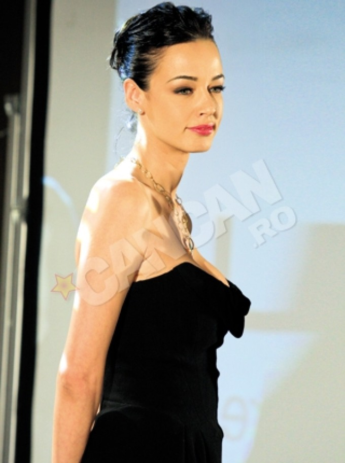 De obicei, Andreea Raicu este o prezenta extrem de eleganta