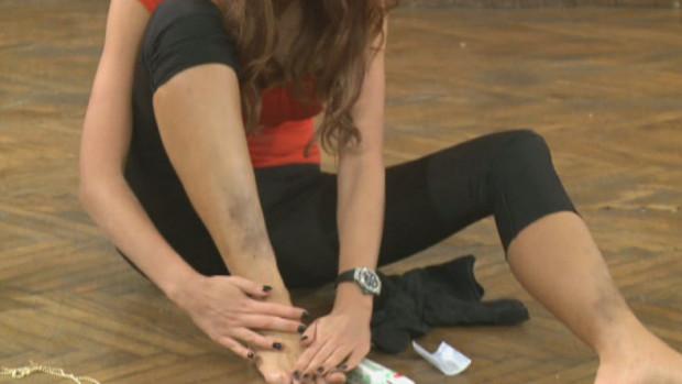 Asa arata picioarele Biancai