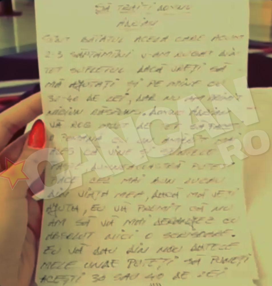 scrisoare Minune