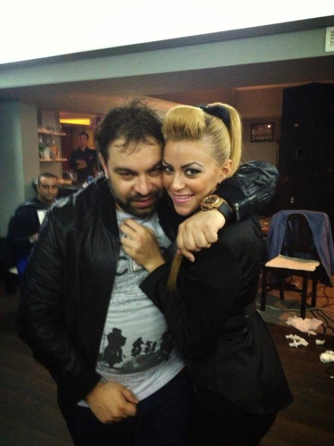 Florin Salam si dansatoarea, Daniela Stan