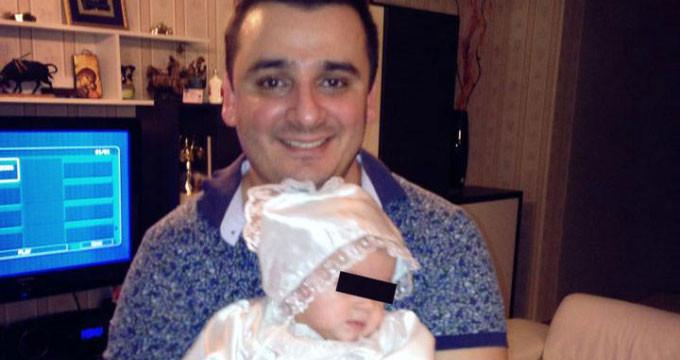 Liviu Guta are o fetita de aproape doi ani