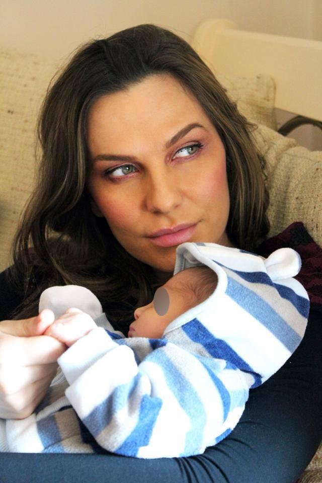 De cand a devenit mama, Anna Lesko e in culmea fericirii