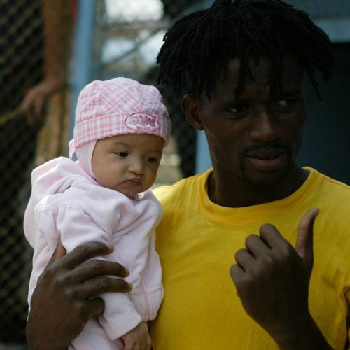 Ibrahim Dossey nu a mai apucat sa isi vada fiica crescand