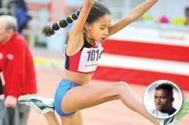 Jennifer practica atletism de performanta