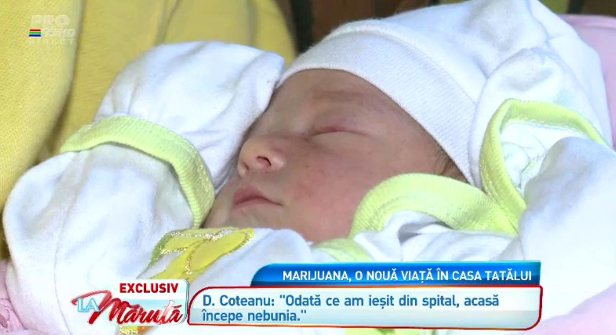 Desi cea de-a doua fetita a Marijuanei are deja aproape opt luni, ea nu a fost crestinata