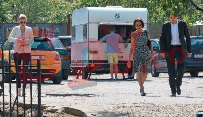 Cristina Rus a pastrat distanta fata de sot si soacra