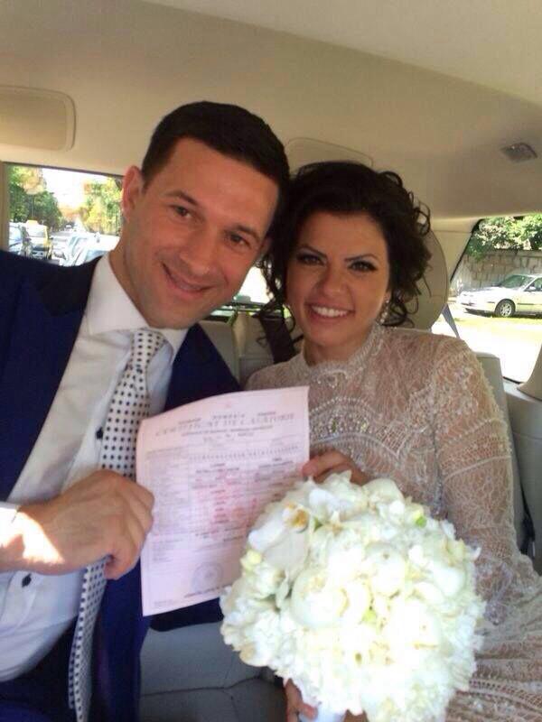 Petru Luhan si Andra Timis s-au casatorit civil