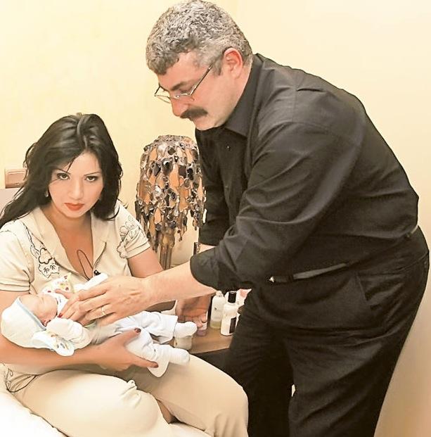 Sotii Bahmuteanu au impreuna doi copii