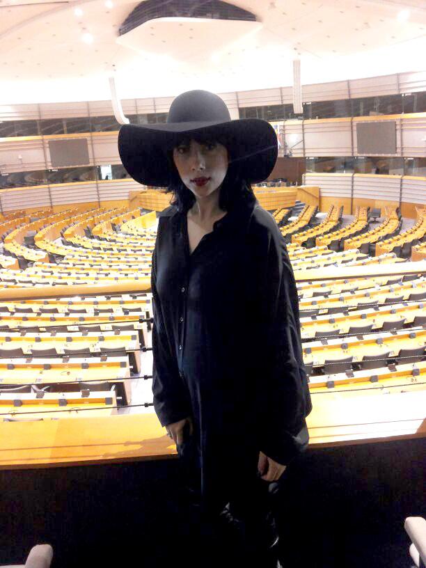 Sophia a fost in vizita la Bruxelles