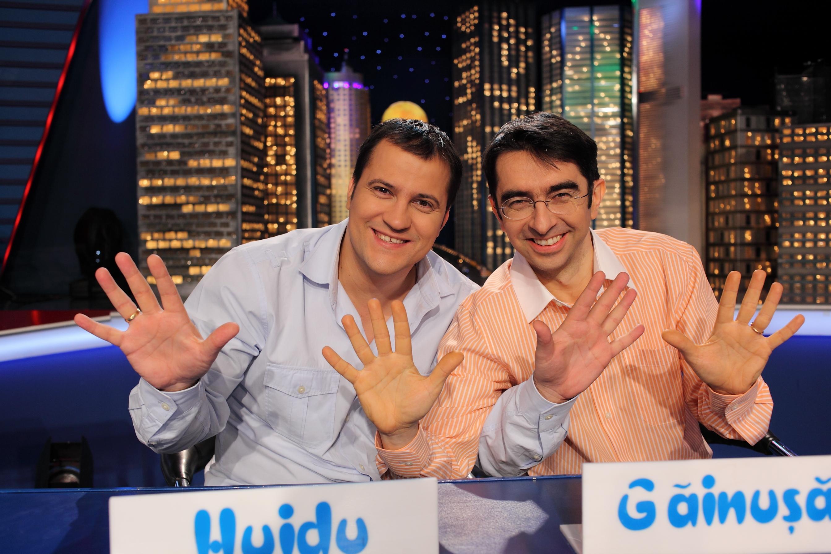Ani la rand, Mihai Gainusa si Serban Huidu au fost cei mai buni prieteni