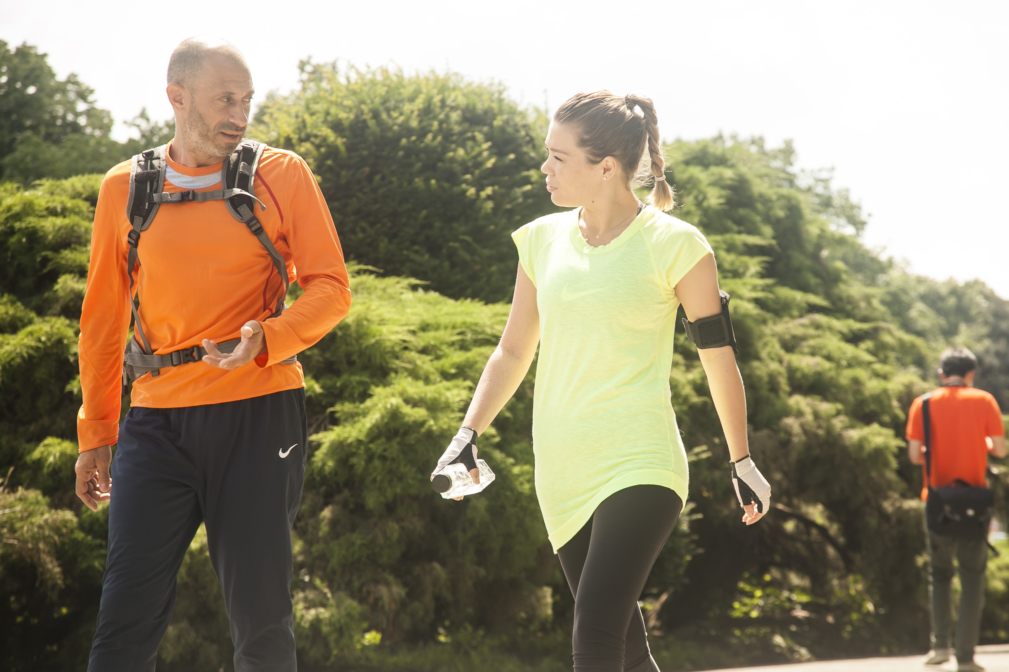Gina a alergat alaturi de maratonistul Paul Dicu