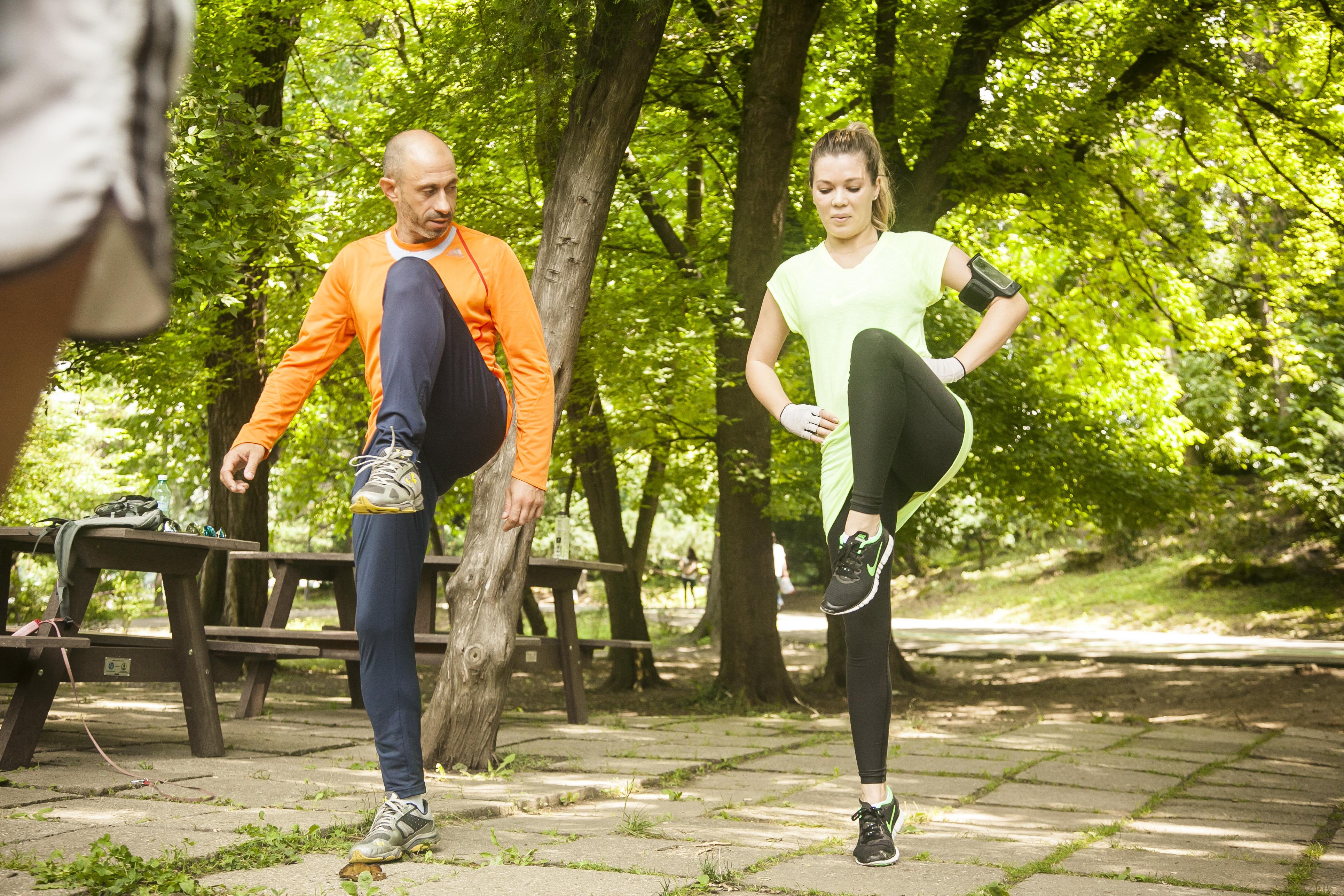 Gina este antrenata de sportivul Paul Dicu