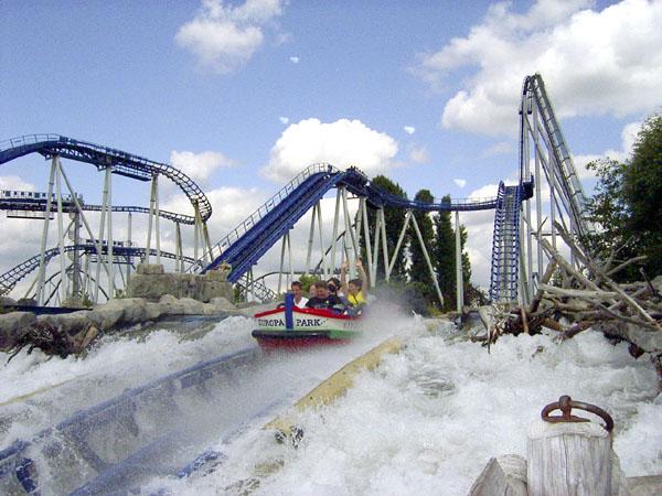 Europa Park este cel de-al doilea parc ca marime din Europa, dupa Disneyland