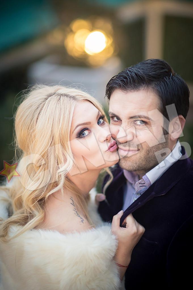 Cristian si Cristina s-au casatorit la doar cateva luni de cand s-au cunoscut