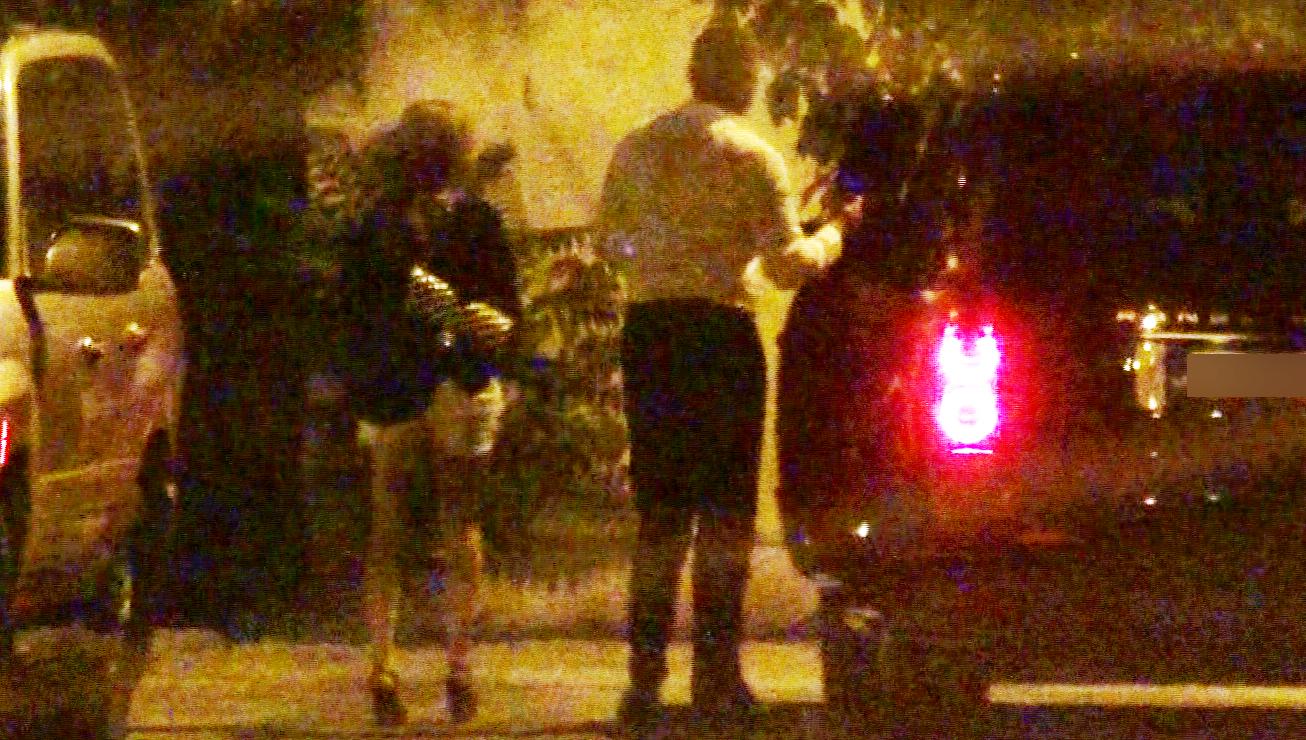 Valentina si-a condus prietena acasa