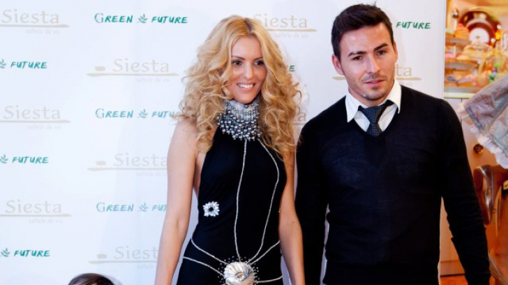 Blonda a avut o relatie cu Adrian Cristea si au impreuna o fetita