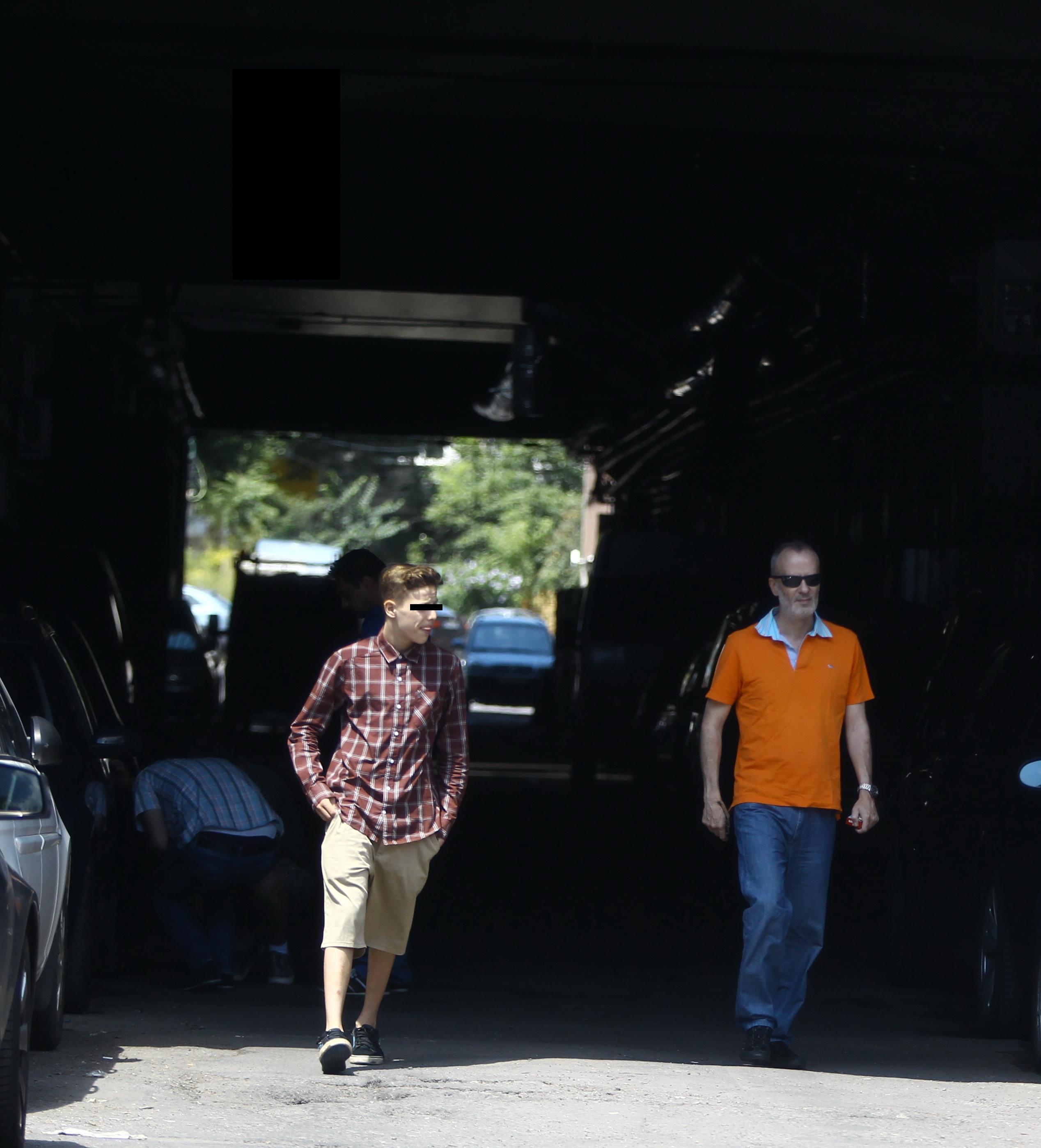 Fiul vitreg al lui Andrei Gheorghe a ramas cu el in masina pana au gasit un loc de parcare