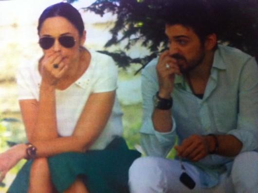 Andreea Marin si Tuncay Ozturk au fost surprinsi de paparazzi Spy in timpul primei discutii conjugale