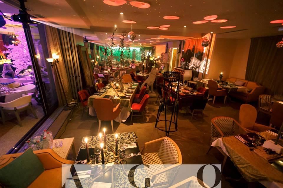 Restaurantul A G O isi asteapta clientii intr-o locatie de lux