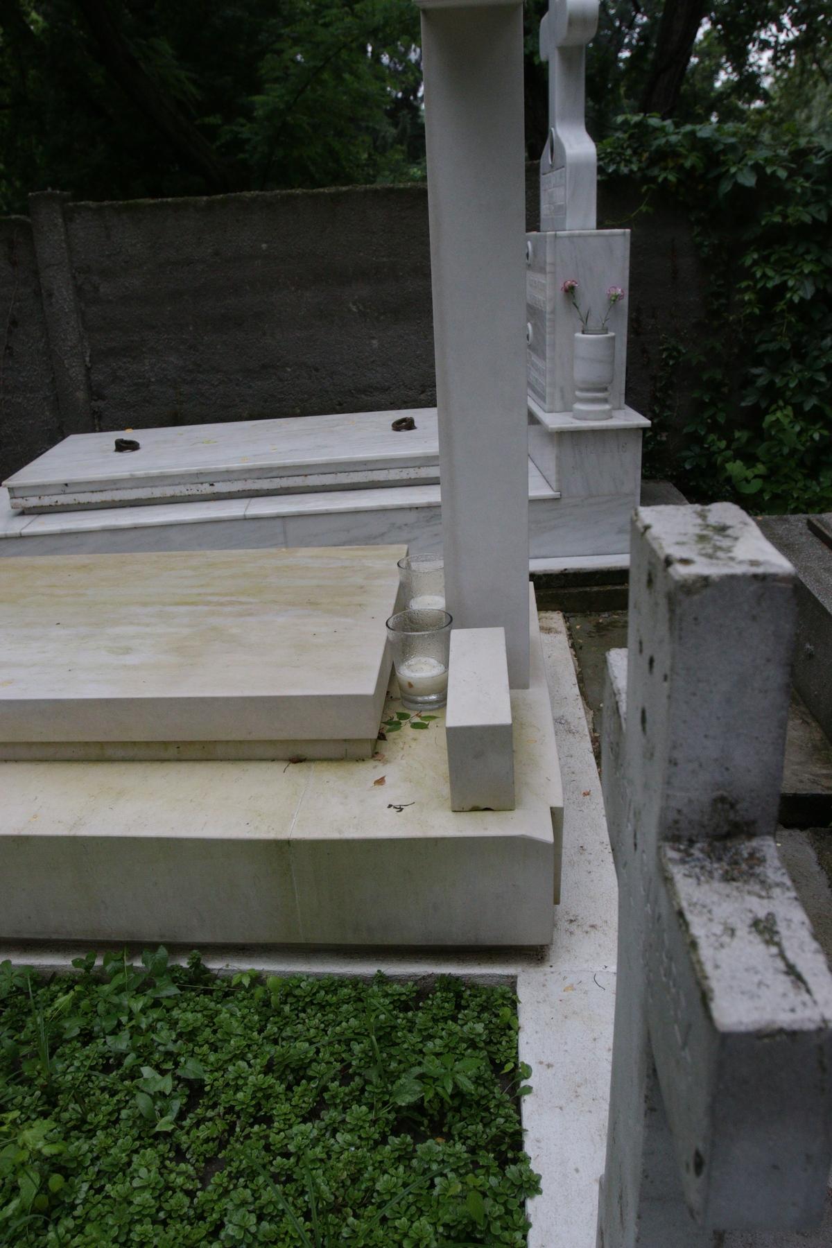 Potrivit unor surse din cimitir nu a mai venit nimeni de ceva vreme la capataiul artistului