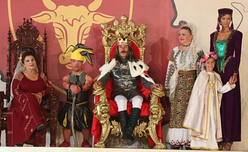 Radu Mazare a pus in scena un moment din viata domnitorului Stefan cel Mare