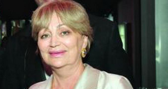 Gabi Dinica, vaduva lui Gheorghe Dinica