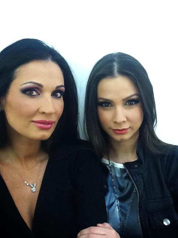 Nicoleta Luciu si iuliana Luciu