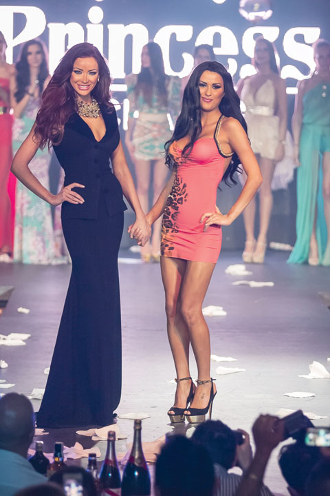 Cele doua participau la prezentari de moda impreuna